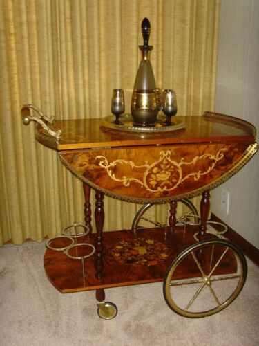 Italian-French Style Beverage Cart