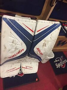 33+1 goalie pads WANTED!!! CCM, BAUER,VAUGHN,BRIANS, etc