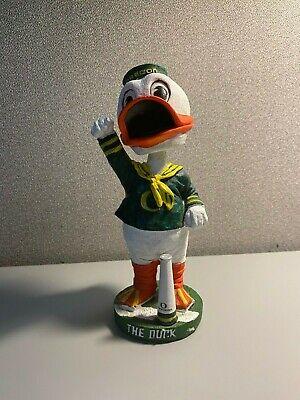 U Of O Ducks (University of Oregon Ducks Mascot THE DUCK Bobble Head Football U of O)