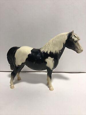 Vintage Breyer Horse Shetland Pony #21 1960's Black & White