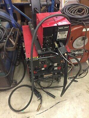 Lincoln Idealarc Dc-250 Welder Ln-7 Wire Feeder 1ph 208-230460