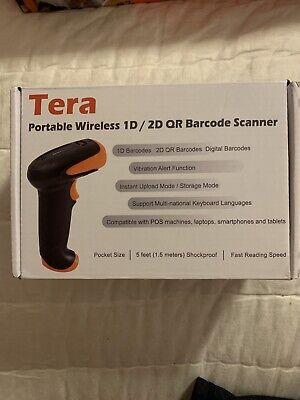 Tera Portable Wireless 1d2d Qr Barcode Scanner