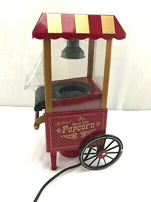 Old fashioned style Popcorn machine reproduction, used for sale  Shipping to Nigeria