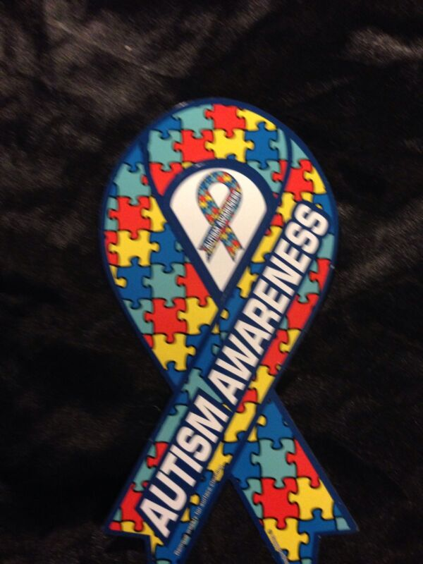 AUTISM AWARENESS CAR MAGNET