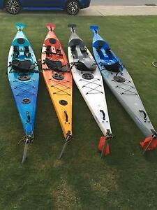 4 Mint condition Finn infinity kayaks $850 each Huntingdale Gosnells Area Preview