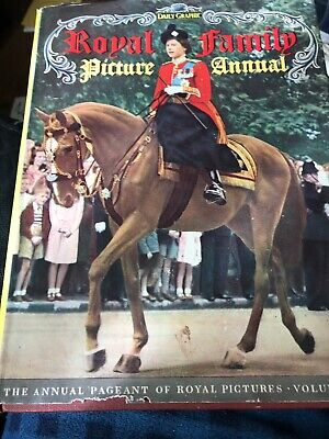 Royal Family Picture Annual, Vol I Book HARDCOVER DAILY GRAPHIC