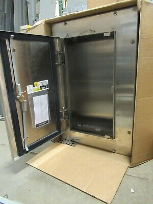 Ge Ab314s Nema 4x Stainless Steel Enclosure- New In Box -e2501