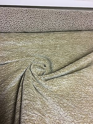 BEAUTIFUL SAND CHENILLE UPHOLSTERY FABRIC 4.8 METRES