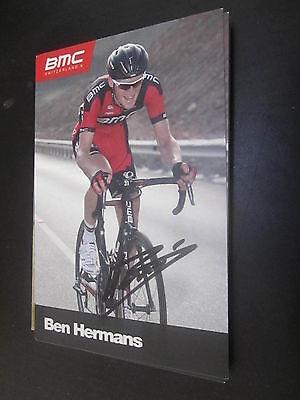 52065 Ben Hermans Belgien Radsport original signierte Autogrammkarte