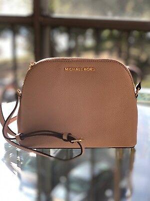 Michael Kors Women Crossbody Leather Bag Handbag Bag Purse Messenger Shoulder MK