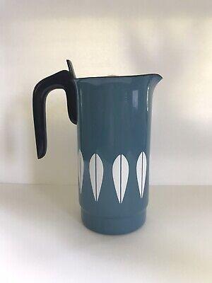 RARE Vintage CATHRINEHOLM Norway Blue Lotus Coffee Percolator Pitcher Pot