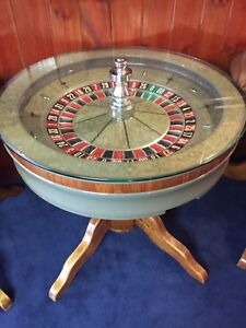 Genuine Roulette Wheel Cocktail Table Mount Waverley Monash Area Preview