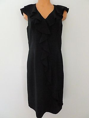 Spense NWT size 10 formal classy black ruffle holiday dress (retails $78) - Classy Holiday Dresses