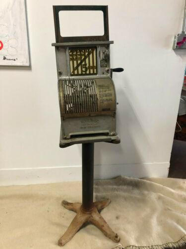 "Antique Vendex ""A Pencil With Your Name"" 5c Vending Machine 1925"