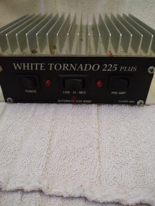 white tornado 225 Plus 10 Meter linear Amplifier