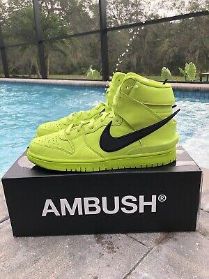 Nike Dunk High Ambush Flash Line DS NIB Size 9 Men's In Hand