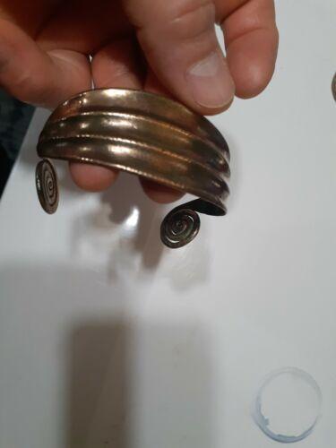 Ancient Greek/Scythian bronze coiled bracelet