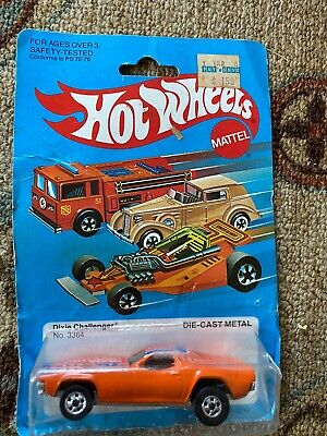 Hot Wheels Dixie Challenger 3364 New in box sealed Made in Malaysia 1982