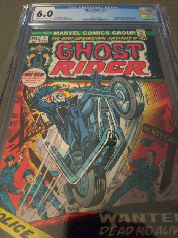 Ghost Rider #1 CGC 6.0 1973 1st app. Daimon Hellstrom (Son of Satan)