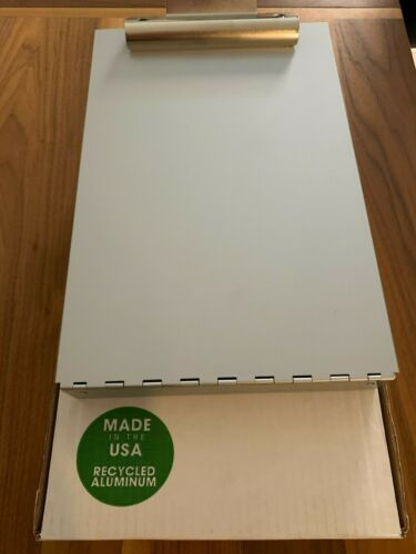 Saunders 21017 Aluminum Cruiser mate Storage Clipboard Letter Size New in Box