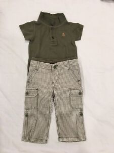 Baby Gap Onsie & Trousers. Size 6-12 months