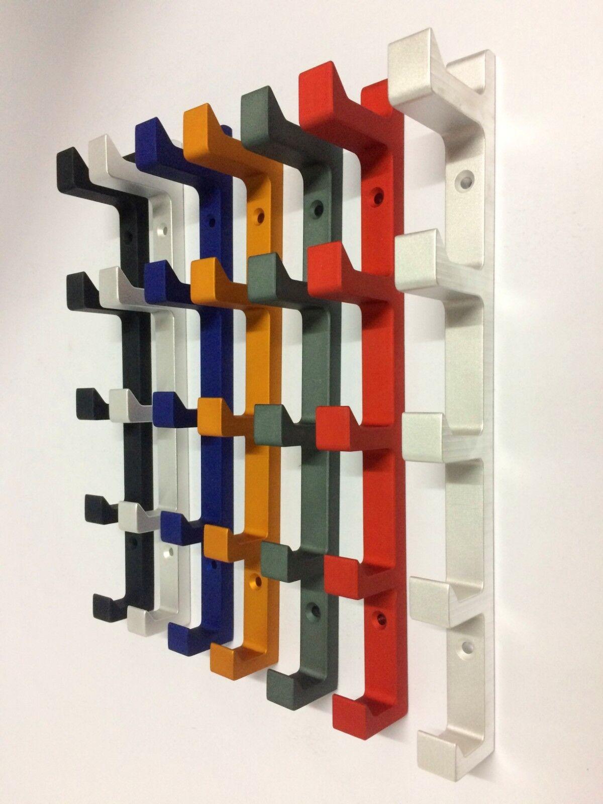 Vertical Wall Hooks Color Full Modern Hat Rack Metal Hanger