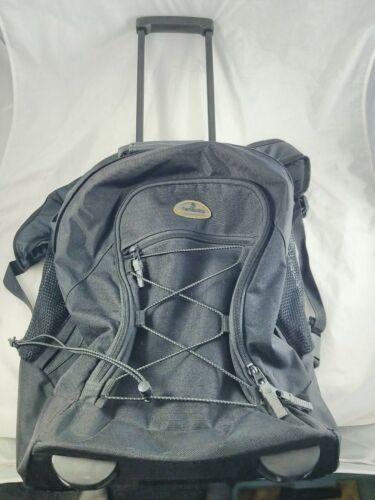 Samsonite Survival Series 560 Wheeled Backpack Black Good Shape - $9.99