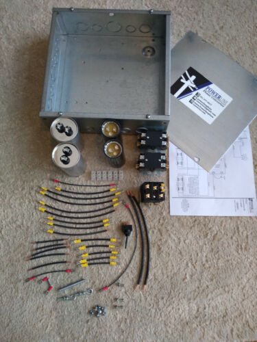 15HP Rotary Phase Converter Quick Build Kit