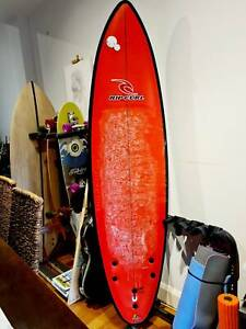 """Surfboard for beginners by RIPCURL 6'6"""" x 20"""" x 2 1/4"""