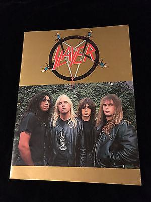 SLAYER-1987 REIGN IN BLOOD TOUR-CONCERT PROGRAM TOUR BOOK
