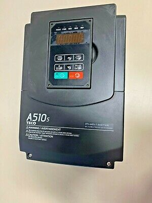 A510-4010-h3 A510-4010-sh3-ac Teco Heavy Duty Frequency Drive Inverter Vfd 3ph