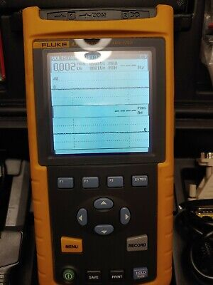 Fluke 43 Power Quality Analyzer In Excellent Condition With I2000 Flex Poble
