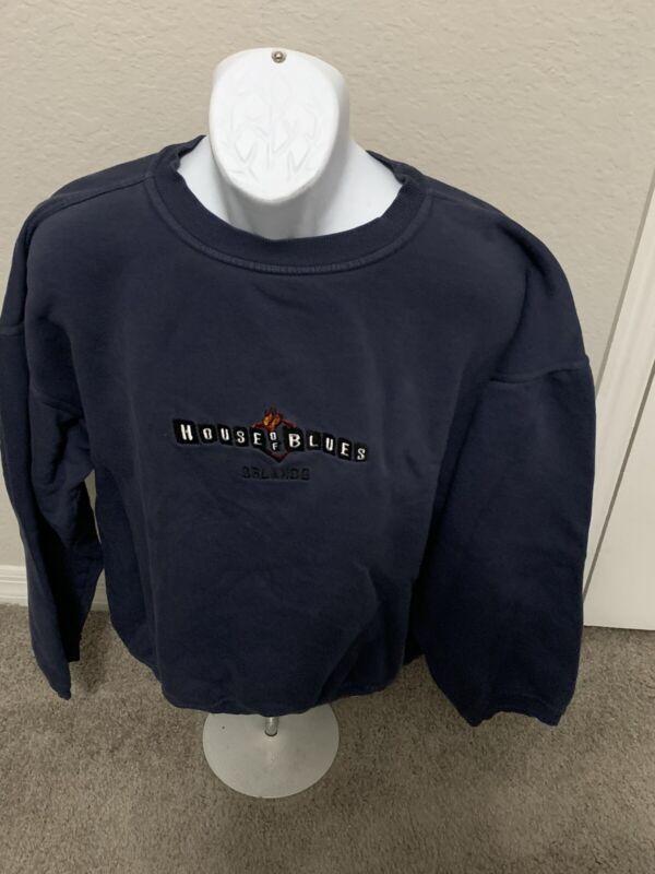 VINTAGE HOUSE OF BLUES Sweat Shirt Size Men's Xxl Sweatshirt