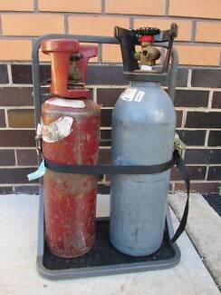 Vehicle Dual Oxy/ Refrigerant bottle holder ($100)