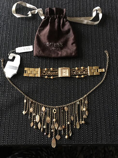 Guess watch & necklace only $50 both