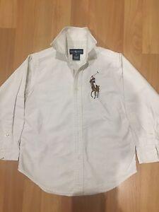 Boys Authentic Ralph Lauren Shirt - size 5 Abbotsbury Fairfield Area Preview