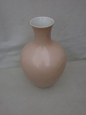 gretsch arzberg porzellan vase 1512 pastellrosa xl 26,5 cm