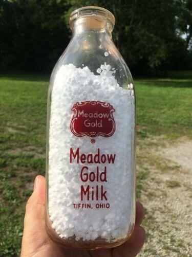 Meadow Gold Tiffin Ohio Square Quart