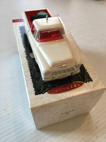 1955 Chevrolet Cameo Hallmark Christmas ornament 1996 55 Task Force