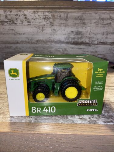 1/64th Scale John Deere 8R 410 Prestige Collection Ertl Toy Tractor