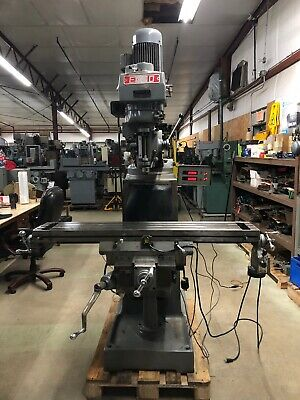 Enco Milling Machine Series Ii Bridgeport