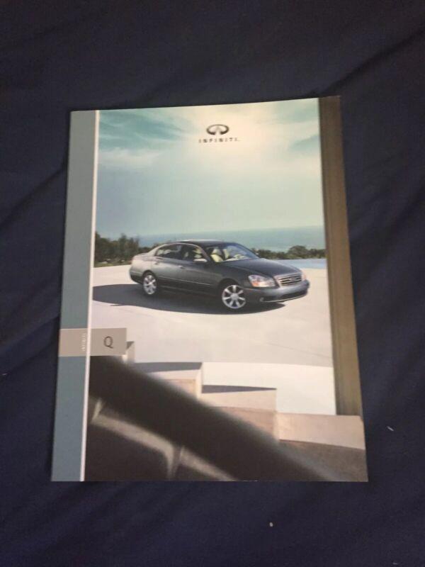 2005 Nissan Infinity Q  USA Market Large Brochure Catalog Prospekt