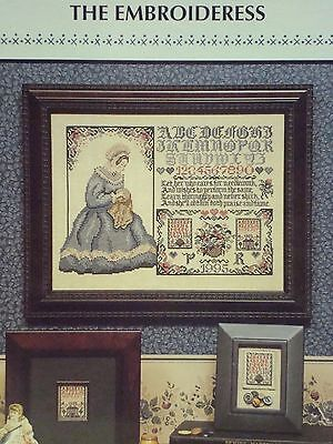 The EMBROIDERESS Cross Stitch KIT, 30 Count Unbleached Linen