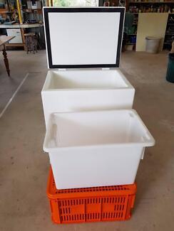Custom-Built Fibreglass Ice Box - Hand-laid GRP - Locally Made