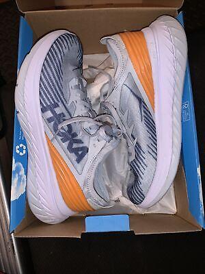 Hoka Carbon X-SPE Brand NIB Blue/Orange M 8 / W 9 / EU 41