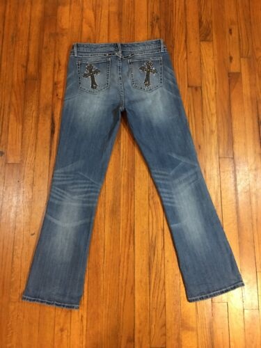 1112 Fits X Wrangler Straight 32l Cross Rock 47 Jeans Tag Womens Low Rise 33w 0wO8PknX