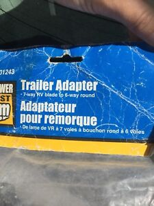 Trailer adapters, wiring kit, spark plugs