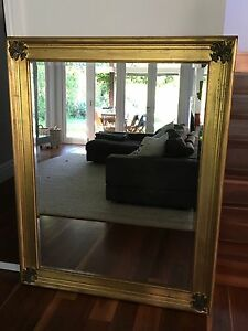 Beautiful large gilt mirror 150x120cm Chatswood Willoughby Area Preview