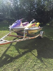 2 Sea-doo's with trailer and covers
