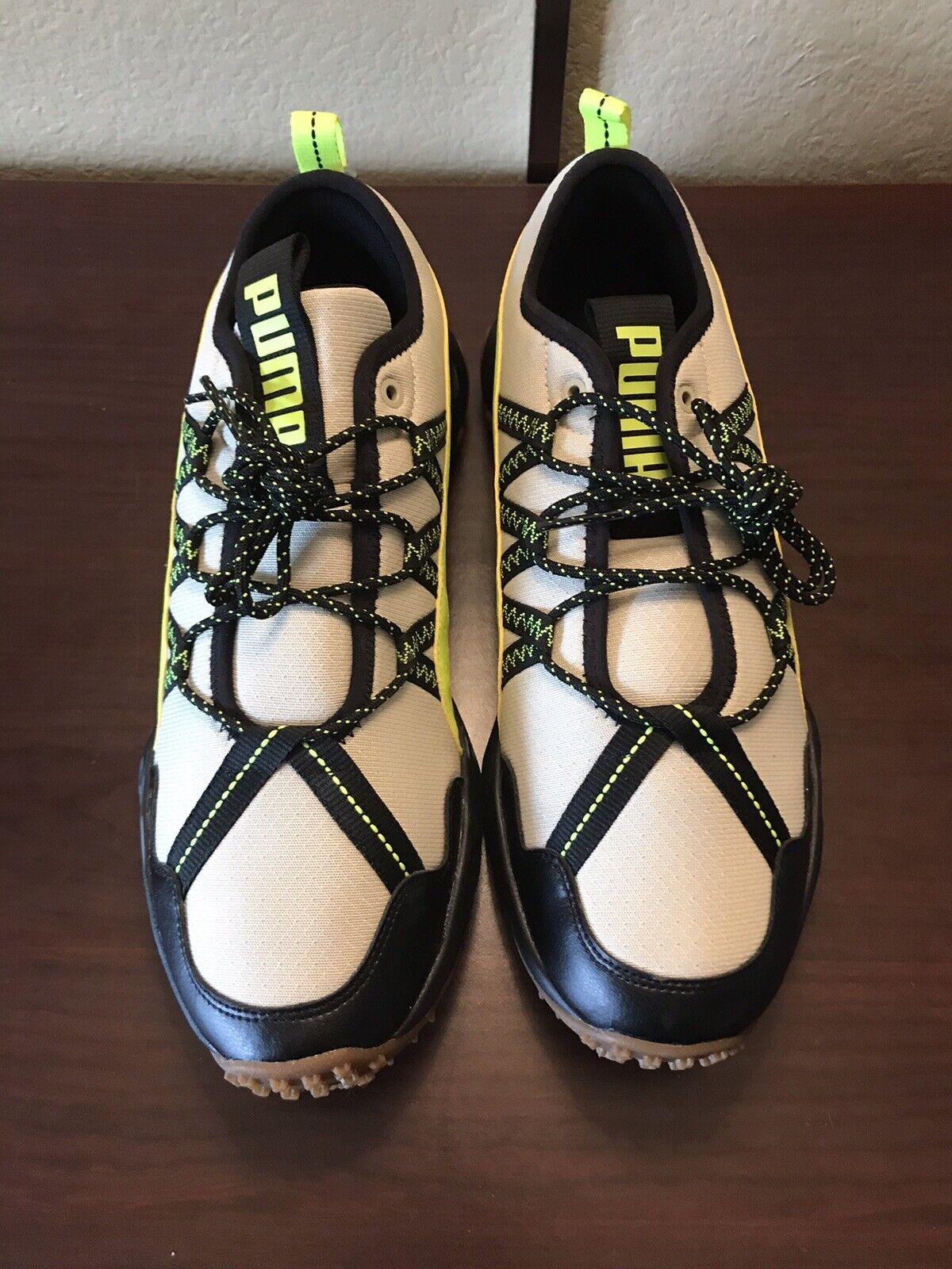 PUMA Ember Trail Running Men's Shoes Hiking Outdoors Beige B